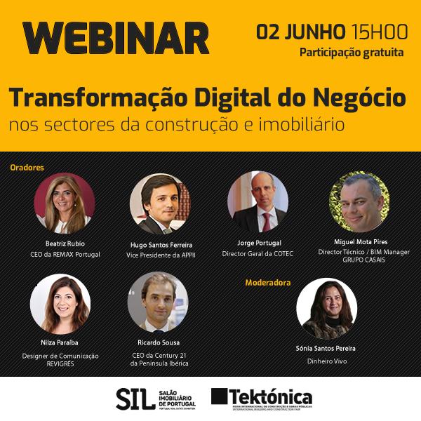 Webinar: Tektónica promove discussão sobre papel do Digital no mundo dos negócios