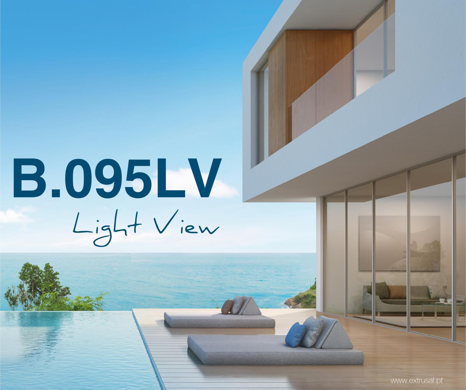 Extrusal apresenta sistema de janelas B.095 Light View