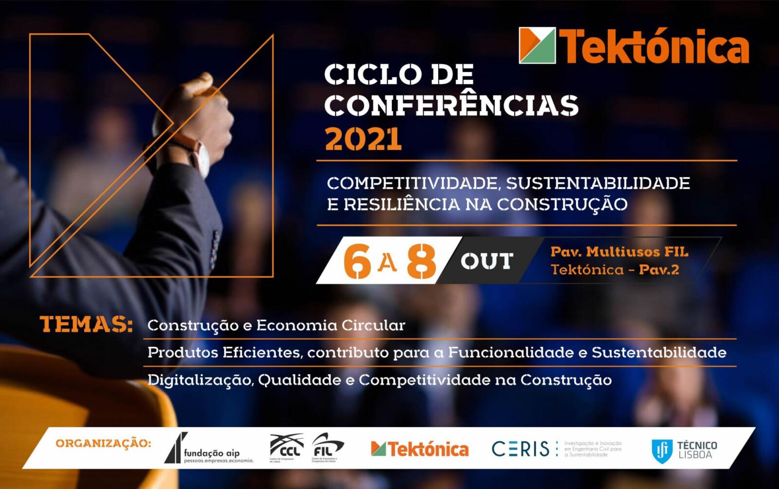 23ª edição da Tektónica terá ciclo de conferências de 6 a 8 Outubro